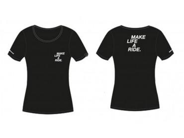 T-shirt MAKE LIFE A RIDE Femmes BMW Motorrad