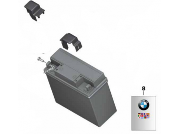 BMW Batterie Original (12V...