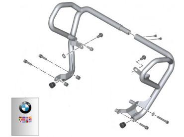 BMW Etrier de protection de moteur Complet (Crashbar) - F700GS (K70) / F650GS (K72) / F800GS (K72)