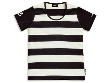 BMW t-shirt stripped femmes...