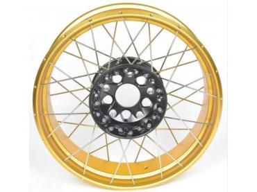 BMW Rear wheel cross spoke...