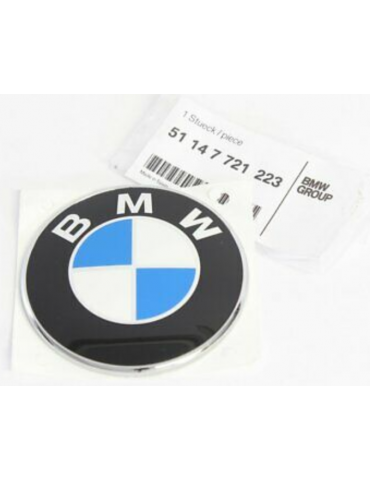 BMW plate BMW for fuel tank...