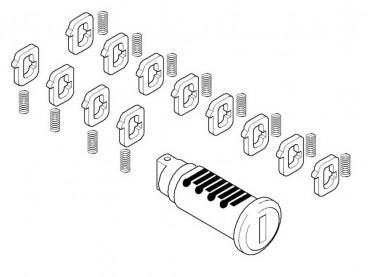 Cylindre de serrure codable...