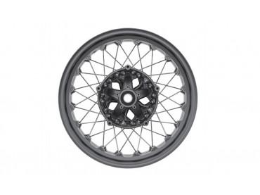 BMW Black spoke front wheel...