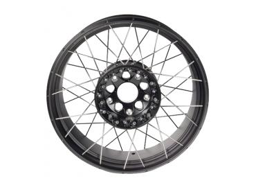 BMW Rear black spoke wheel...