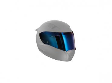 BMW Race helmet visor blue...