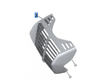 BMW Oil cooler cover - R18...