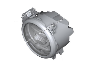 BMW LED Headlight Genuine -...