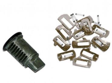 Cylindre de serrure codable sur clé d'origine BMW pour valise Vario G650GS / F650GS / Dakar (R13)