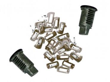 Cylindre de serrure codable sur clé d'origine BMW pour Top Case - G650GS (R13) F650GS (R13) F650GS Dakar (R13)