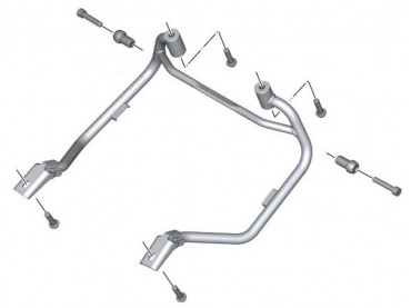 BMW Set Luggage racks -...