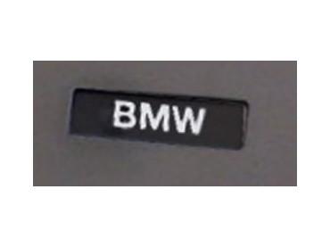 Plakette Schriftzug BMW Koffers - R1200R (K27) / R1200ST (K28)