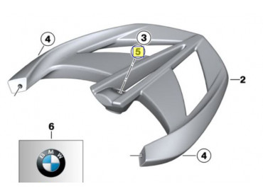 BMW Set Luggage Racks -...