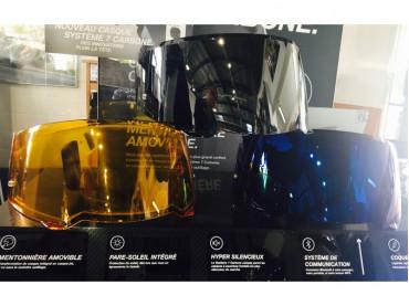 BMW Visier Motorradhelm BMW System 7 Getönt doppelseitiges Visier