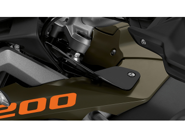 BMW Set Deflector Tinted -...