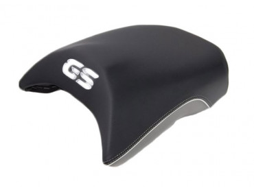 BMW Selle passager Exclusive Noir/Gris - R1200GS (K50) / R1200GS Adventure (K51) / R1250GS / R1250GSA