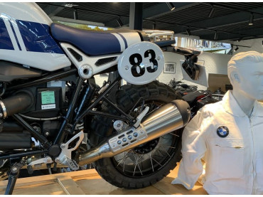 BMW Satz Startnummerntafel Hoch - R Nine T 2016 (Pure/Scrambler/Racer/UrbanGS)