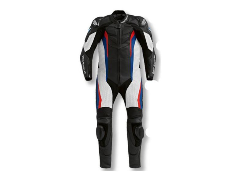 Combinaisons de course moto racing en cuir avec protections et bosse une pièce