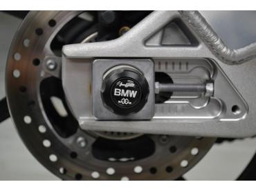 BMW Satz Achsprotektoren - HP4 (K42) / S1000R (K47) / S1000RR (K46)