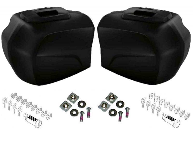 BMW BMW Pack Valises Latérales - S1000XR (K49) (BLACK STORM) pack-valises-s1000xr-BLACK-STORM