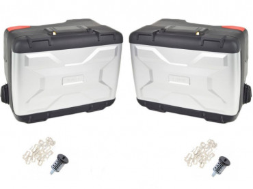 BMW Set of 2 Motorcycle Pannier Vario - R1250GS / R1250GS Adve