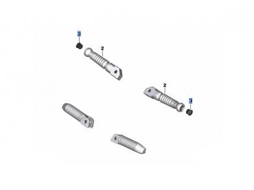 BMW Pack Repose-pied passager droit et gauche - S1000RR (K67)