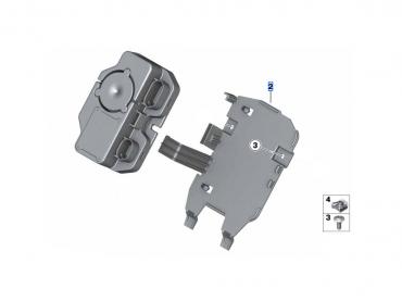 BMW Support de boîtiers électroniques (DWA/E-Call) - S1000RR (K67)