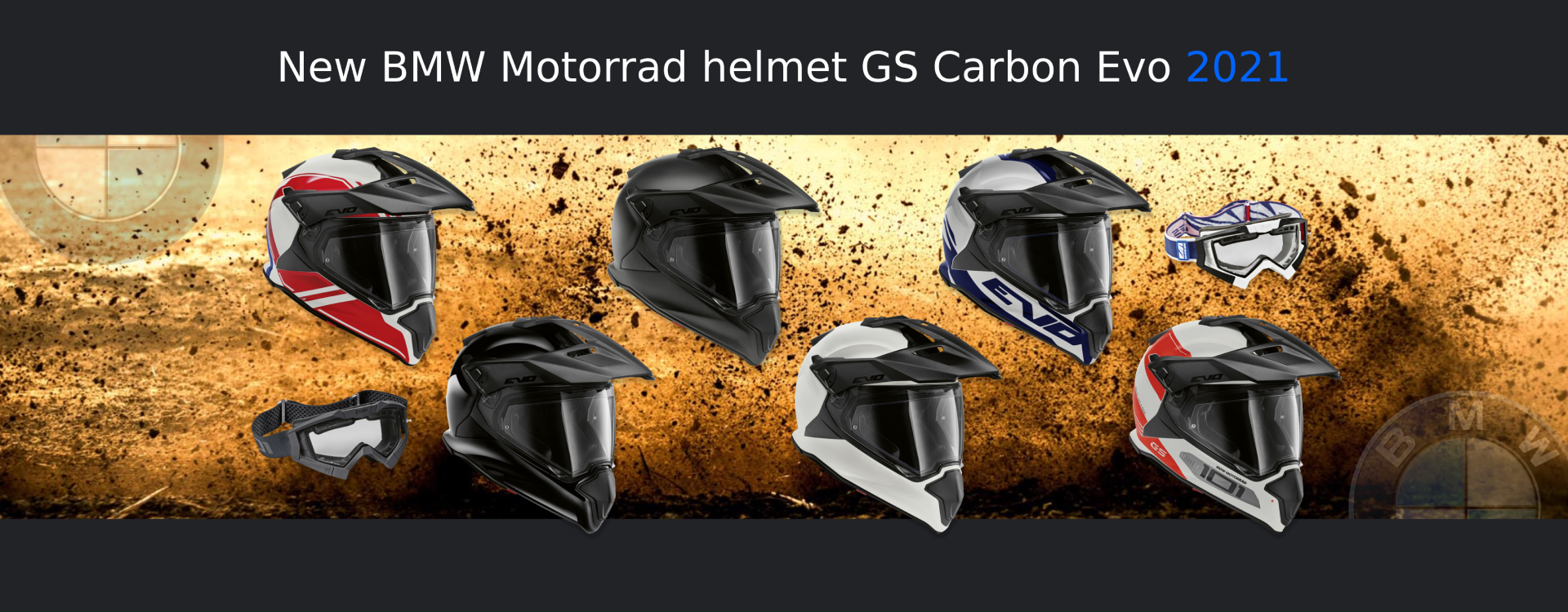 New Helmets GS Carbon EVO 2021